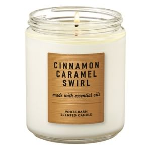 Cinnamon Caramel Swirl Single Wick Candle